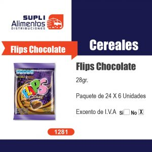 FILPS DE CHOCOLATE 28 GR