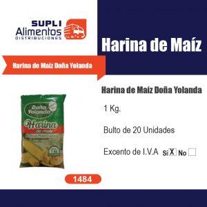 HARINA DE MAIZ DOÑA YOLANDA