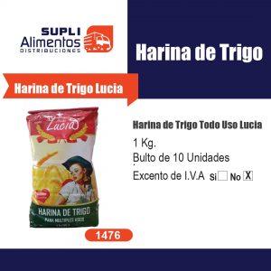 HARINA DE TRIGO LUCIA