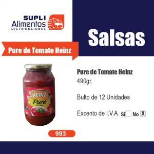 PURE DE TOMATE HEINZ 400 g