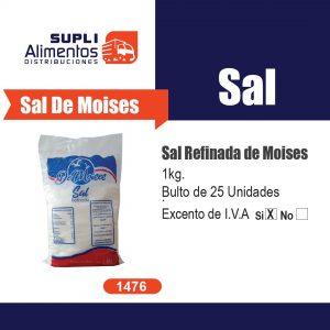 SAL REFINADA DE MOISES