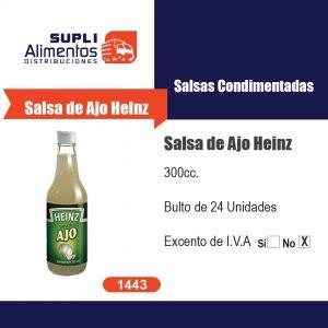 SALSA DE AJO HEINZ